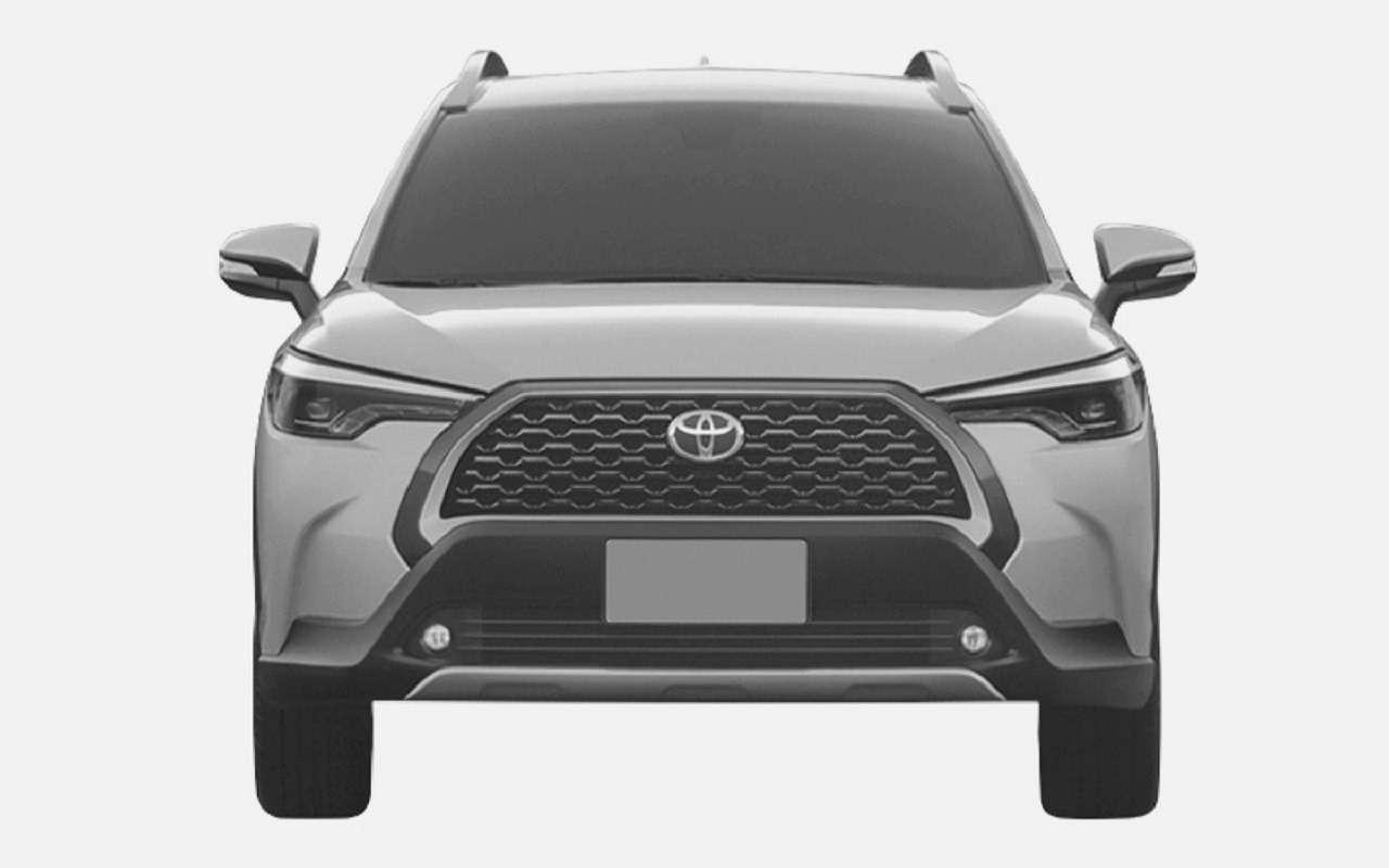 Toyota запатентовала вРоссии кроссовер Corolla Cross— фото 1248084