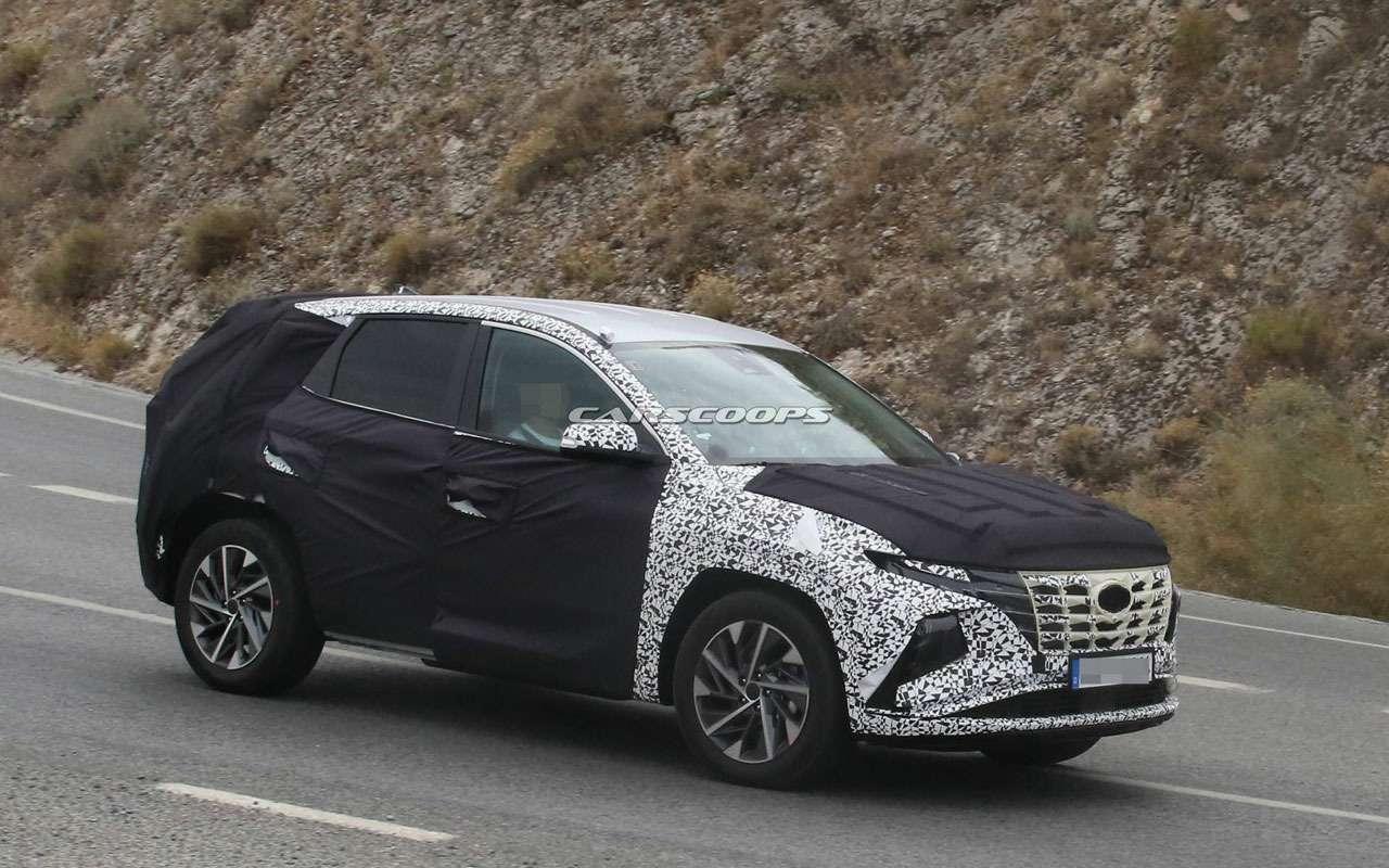 Новый Hyundai Tucson— первые подробности— фото 999691
