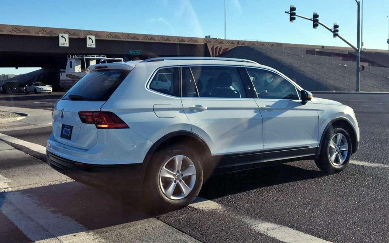 Предсерийный Volkswagen Tiguan судлиненной колесной базой