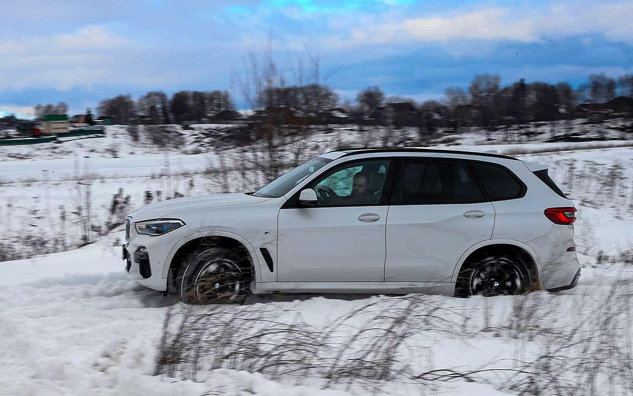 Audi Q8, BMW X5, Range Rover Sport— тест-драйв роскоши вцифрах— фото 963381