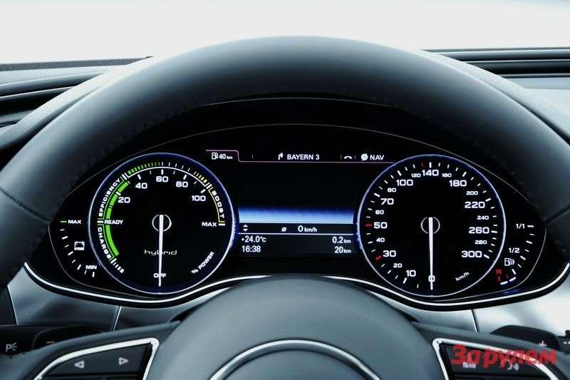 Audi A6hybrid/Detail