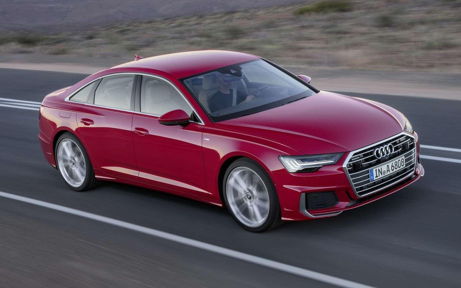 Новый Audi A6: найди десять отличий— фото 849237
