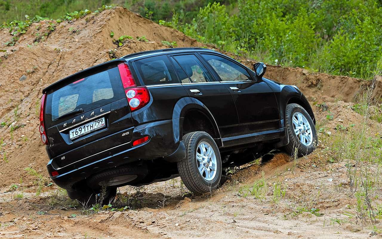 Haval H5и УАЗ Патриот: большой тест-сравнение— фото 1180908