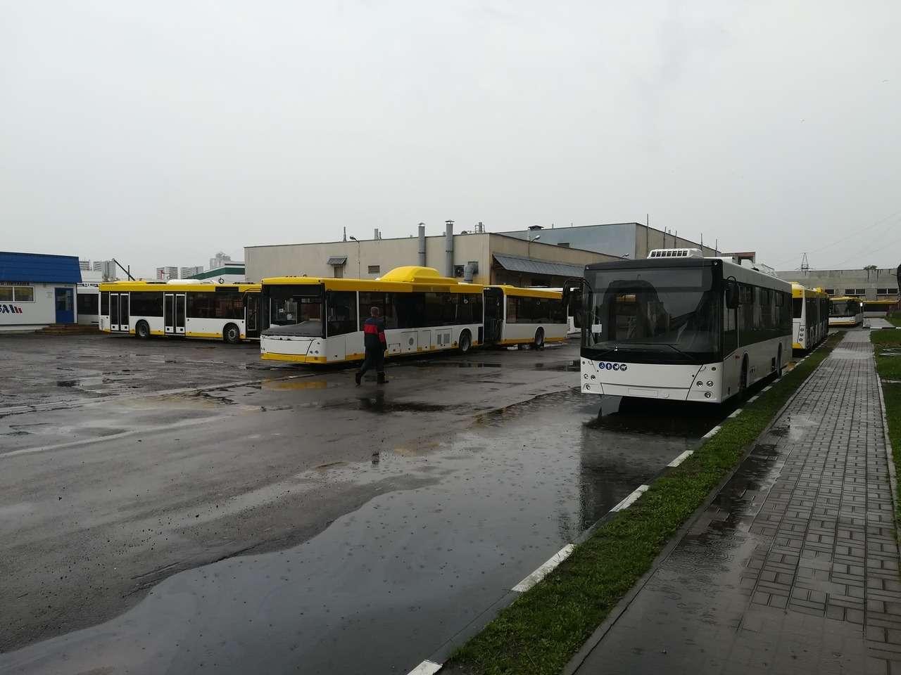 С новым... МАЗом! Премьера автобуса МАЗ-303— фото 991122
