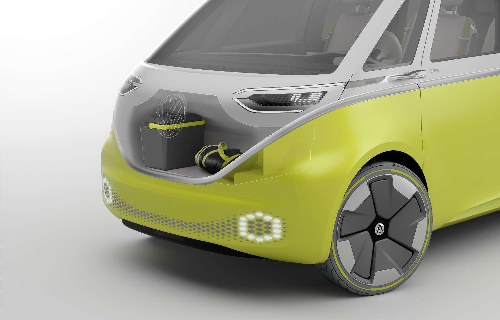 Volkswagen I.D.Buzz: между хиппи ихипстерами— фото 690425