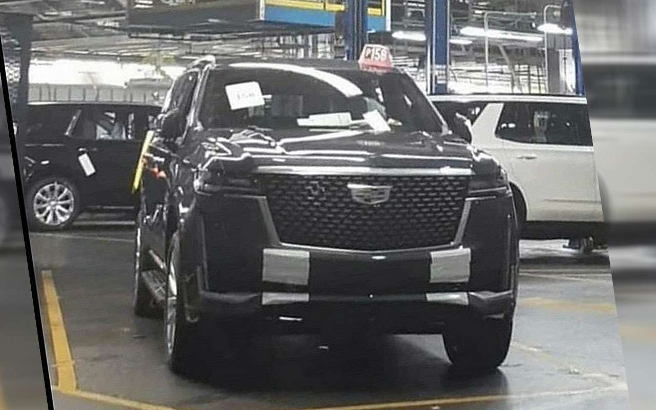 Новый Cadillac Escalade— первые фото сзавода— фото 1021635