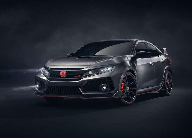 Хонда представила прототип нового хот-хэтча