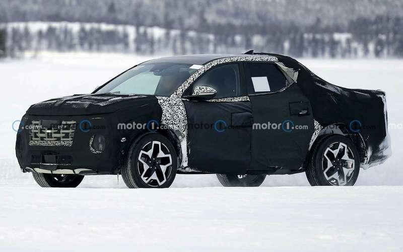 Кросс-пикап: новая модель Hyundai. Скоро
