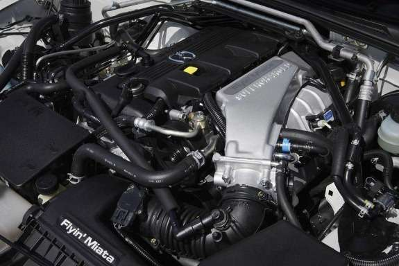 Mazda MX-5 Yusho Concept engine compartment
