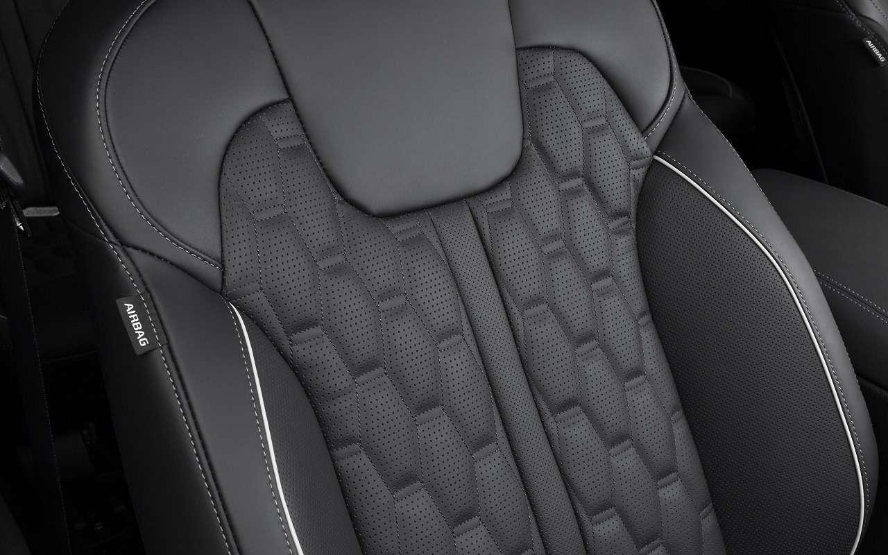 Парковка спульта: новые подробности оновом Kia Sorento— фото 1095535