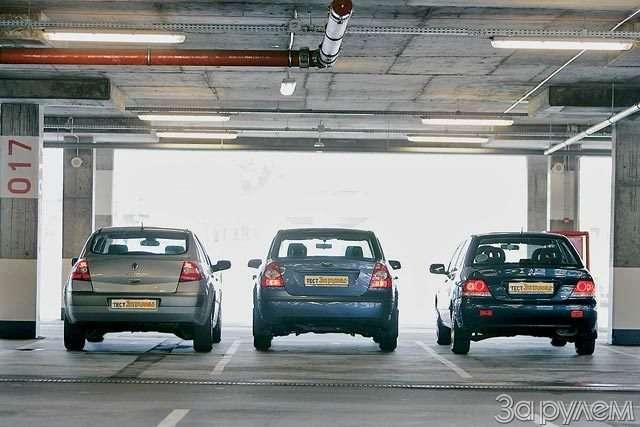 Тест Ford Focus II, Renault Megane, Mitsubishi Lancer. Двое наодного— фото 58323