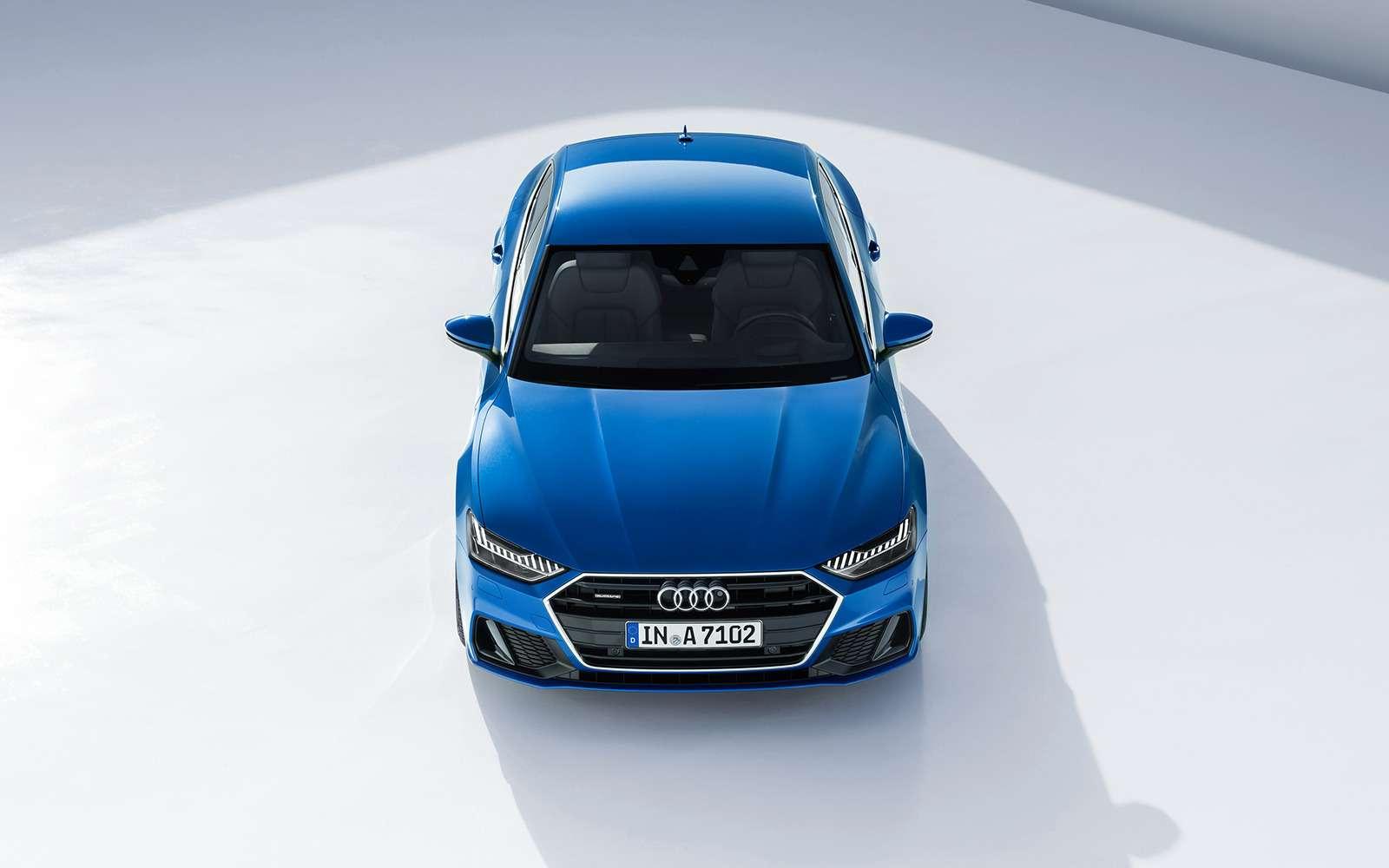 Новая Audi A7Sportback— вся насенсорах— фото 807139