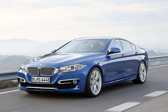 BMW4-Series Gran Coupe rendering side-front view_no_copyright