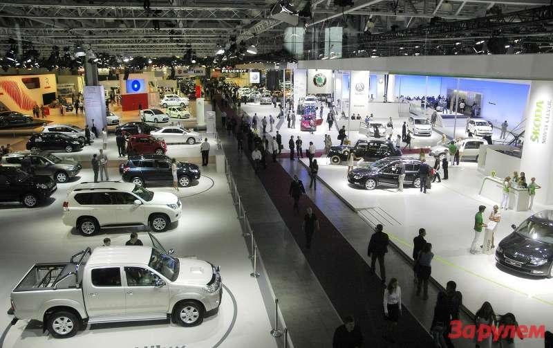Московский Международный Автосалон 2010