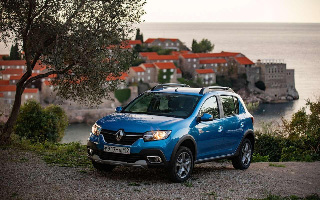 Renault Sandero иLogan висполнениях Stepway— теперь свариатором