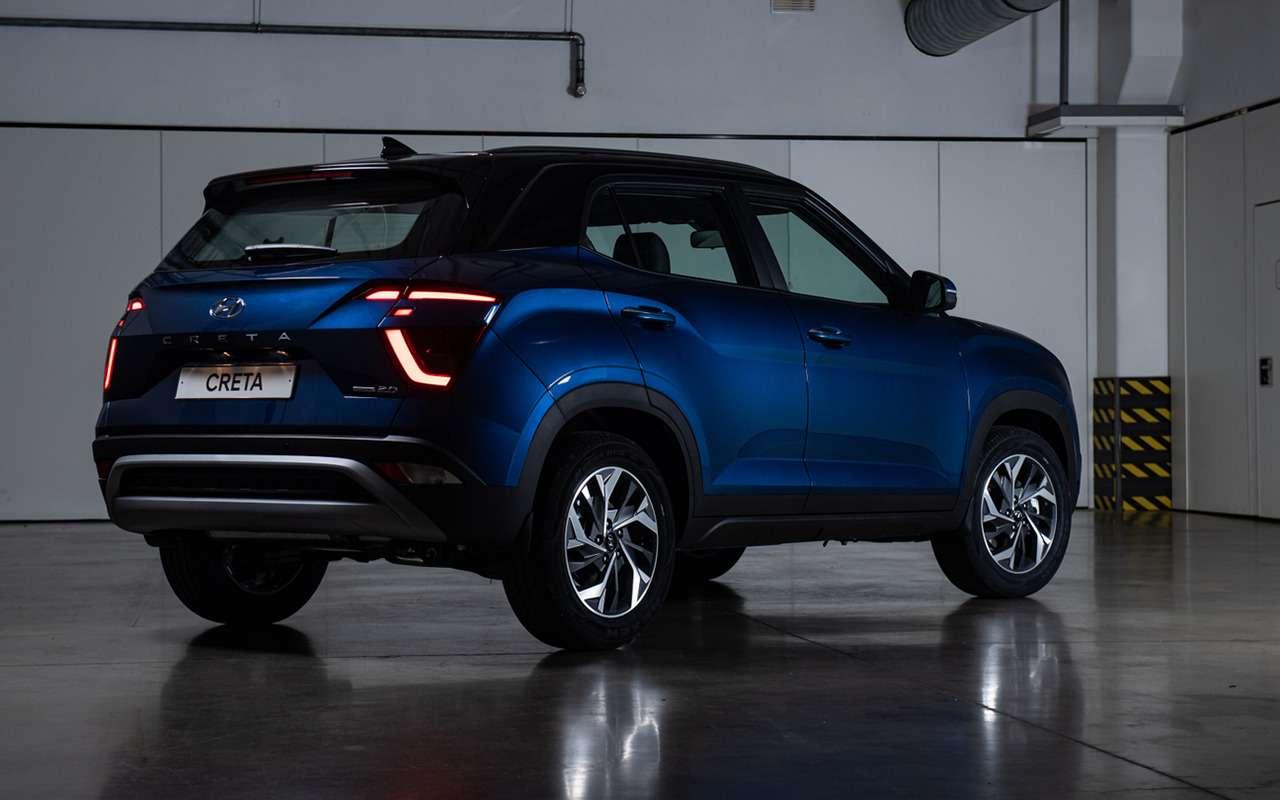 Новая Hyundai Creta дляРоссии: премьера ипервые фото— фото 1254482
