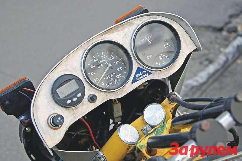 Приборная панель для мотоцикла своими руками 5