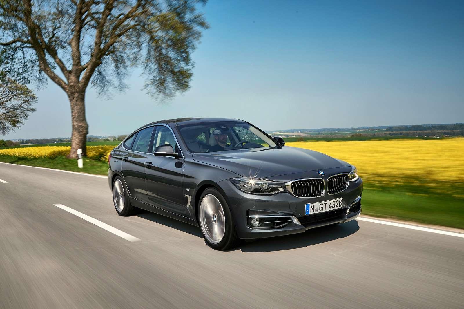 Обновленный BMW 3-й серии GT: урок эффективного менеджмента— фото 593846