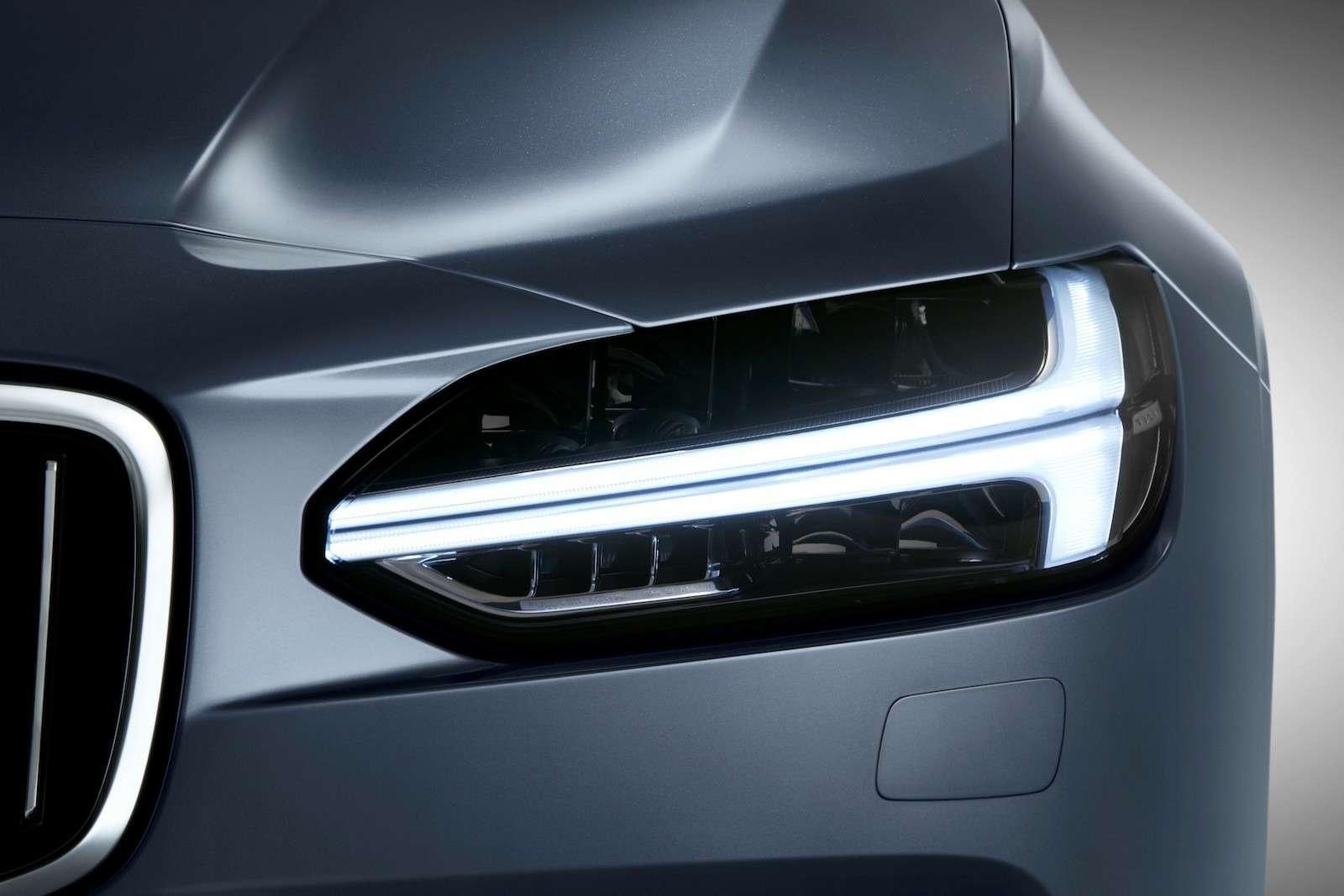 Новый Volvo S90 представили доММАС-2016— фото 621613