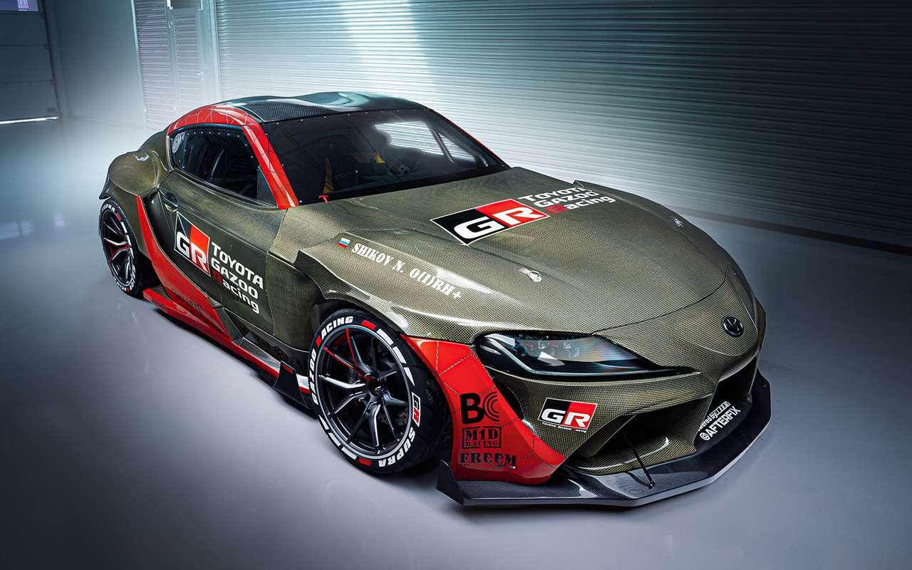 Toyota показала 1015-сильный спорткар Supra— фото 1217504