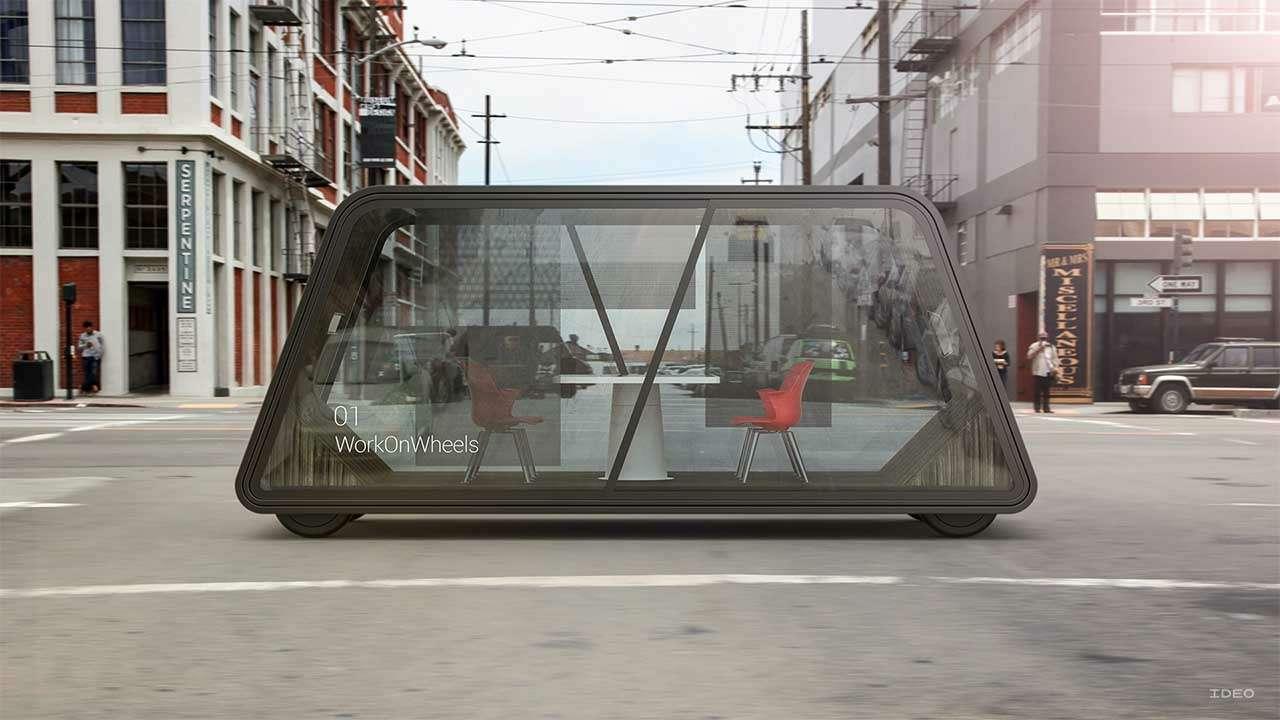 Cамоуправляемые автомобили будущего могут быть прозрачными