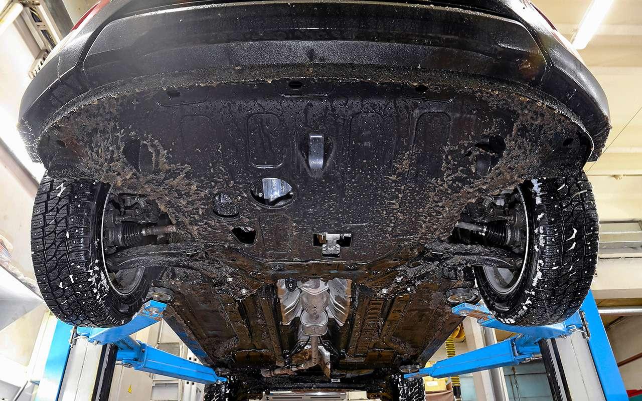 Лада XRAY Cross, Ford Ecosport иCreta: тест кроссоверов— фото 944611