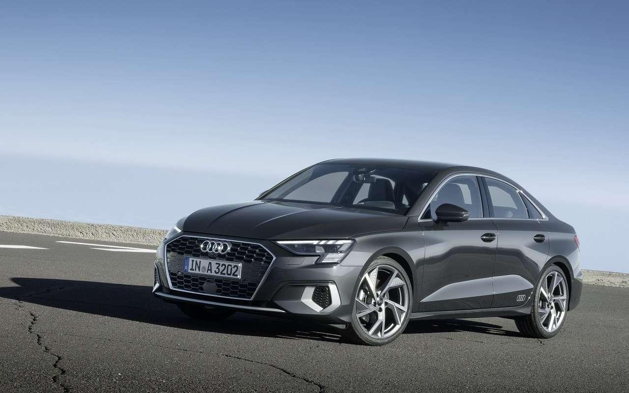 Audi показала седан A3нового поколения— фото 1118844