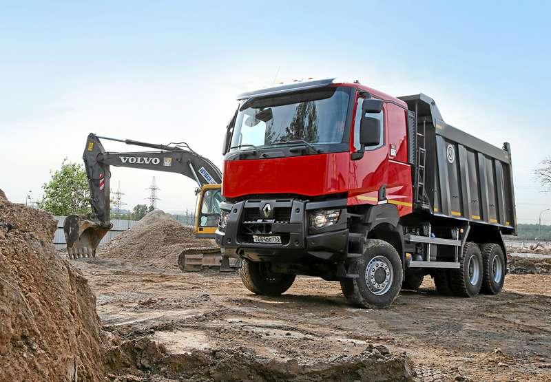 Строительные грузовики Renault K-серии: сменяя Kerax