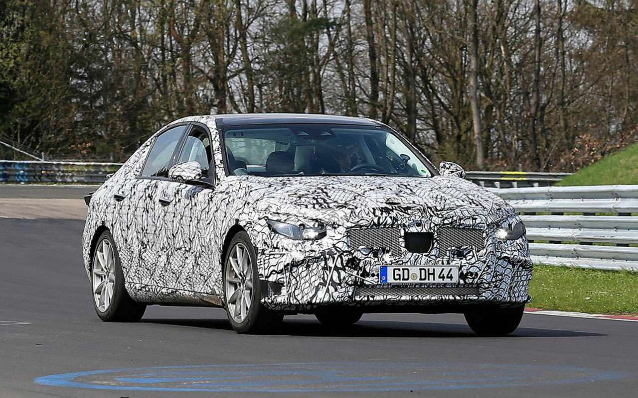Новый Mercedes-Benz C-класса станет гладким игибридным— фото 969397