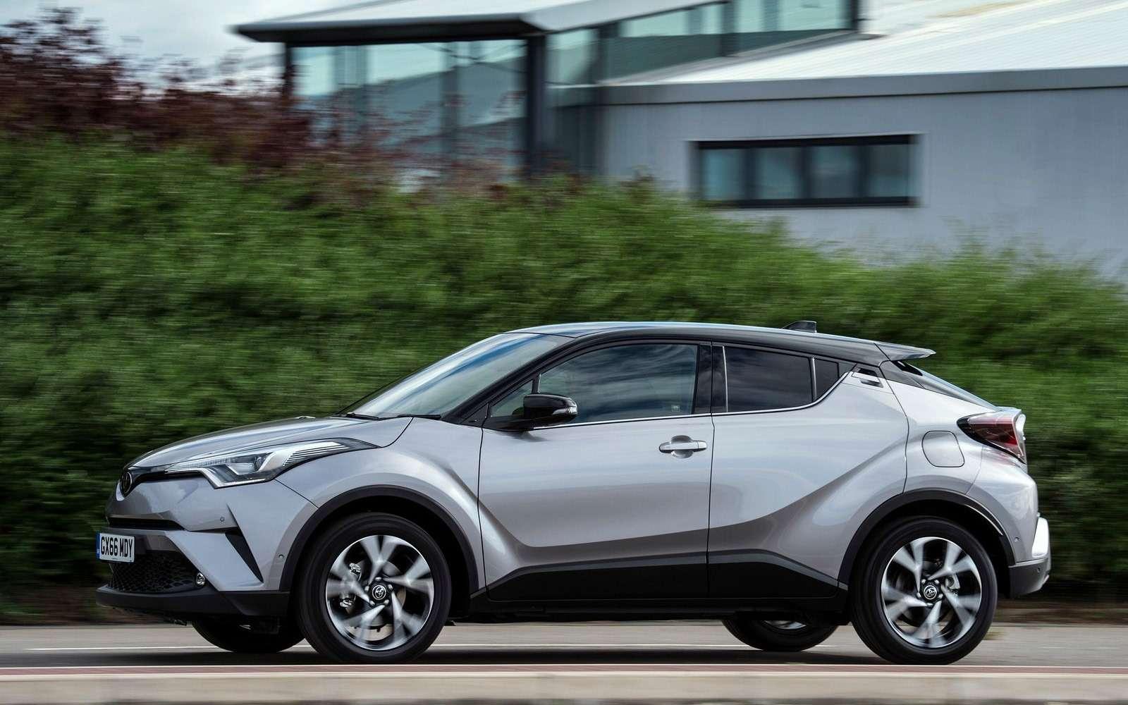 Toyota С-HR: комплектации ицены дляРоссии— фото 882734