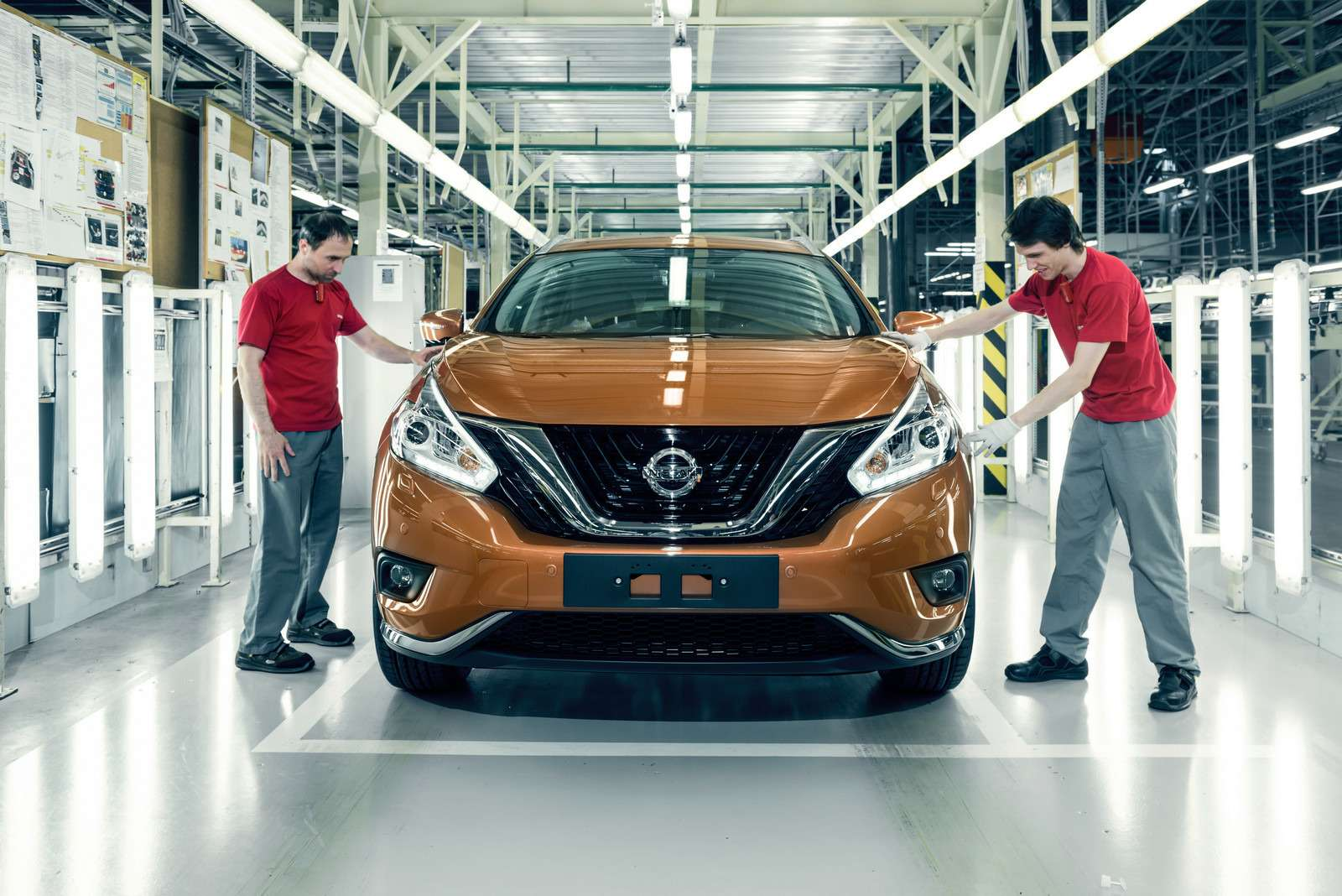 Новый Nissan Murano начали собирать вРоссии— фото 600522
