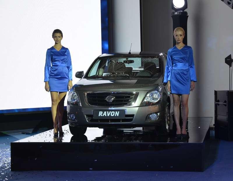 Ravon покажет наМосковском автосалоне полную линейку R