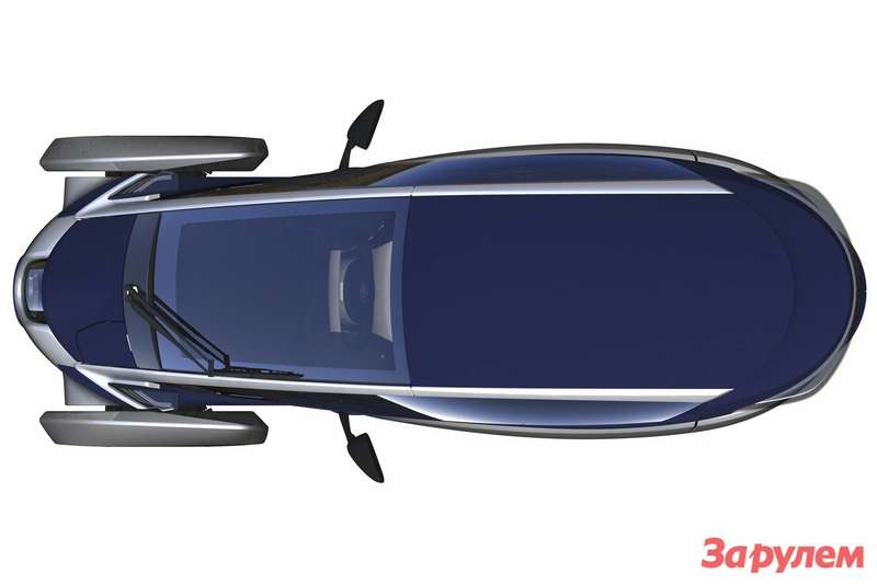 Toyota i-Road top view