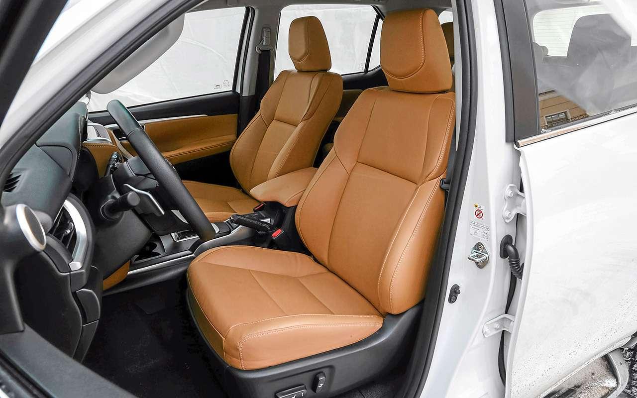 Toyota Fortuner, Mitsubishi Pajero Sport, Kia Mohave  — супертест — фото 855642