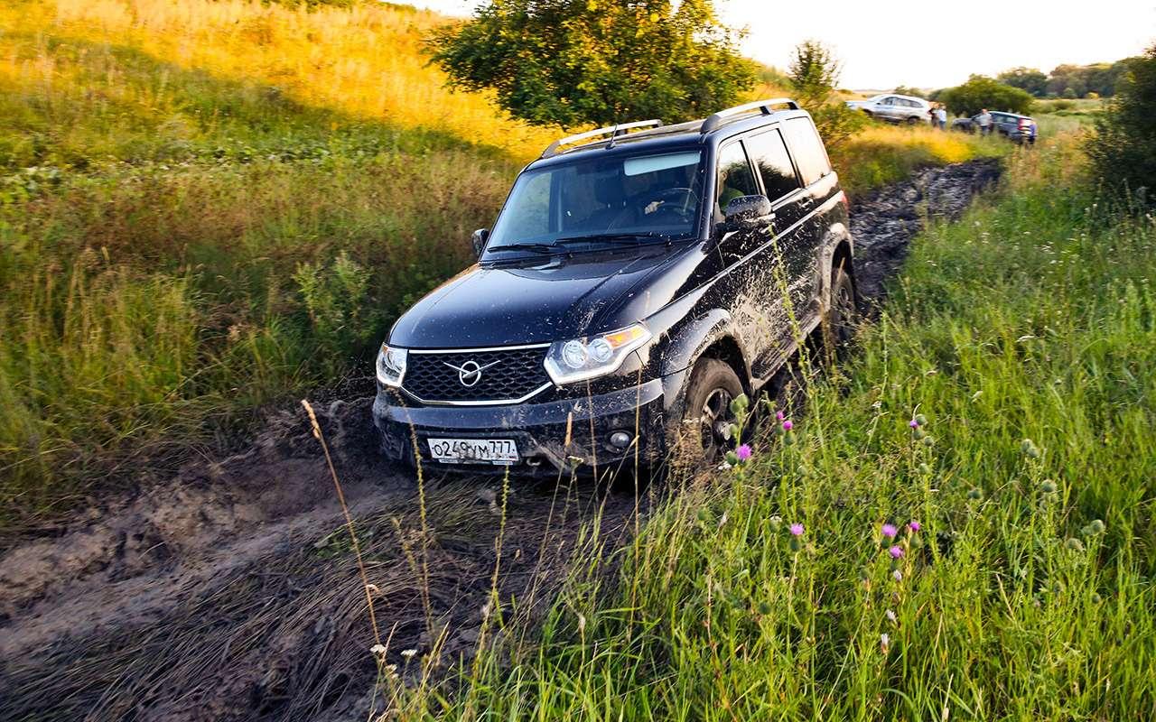 Foton Sauvana, DWHower H3или УАЗ Патриот— тест ЗР— фото 804635