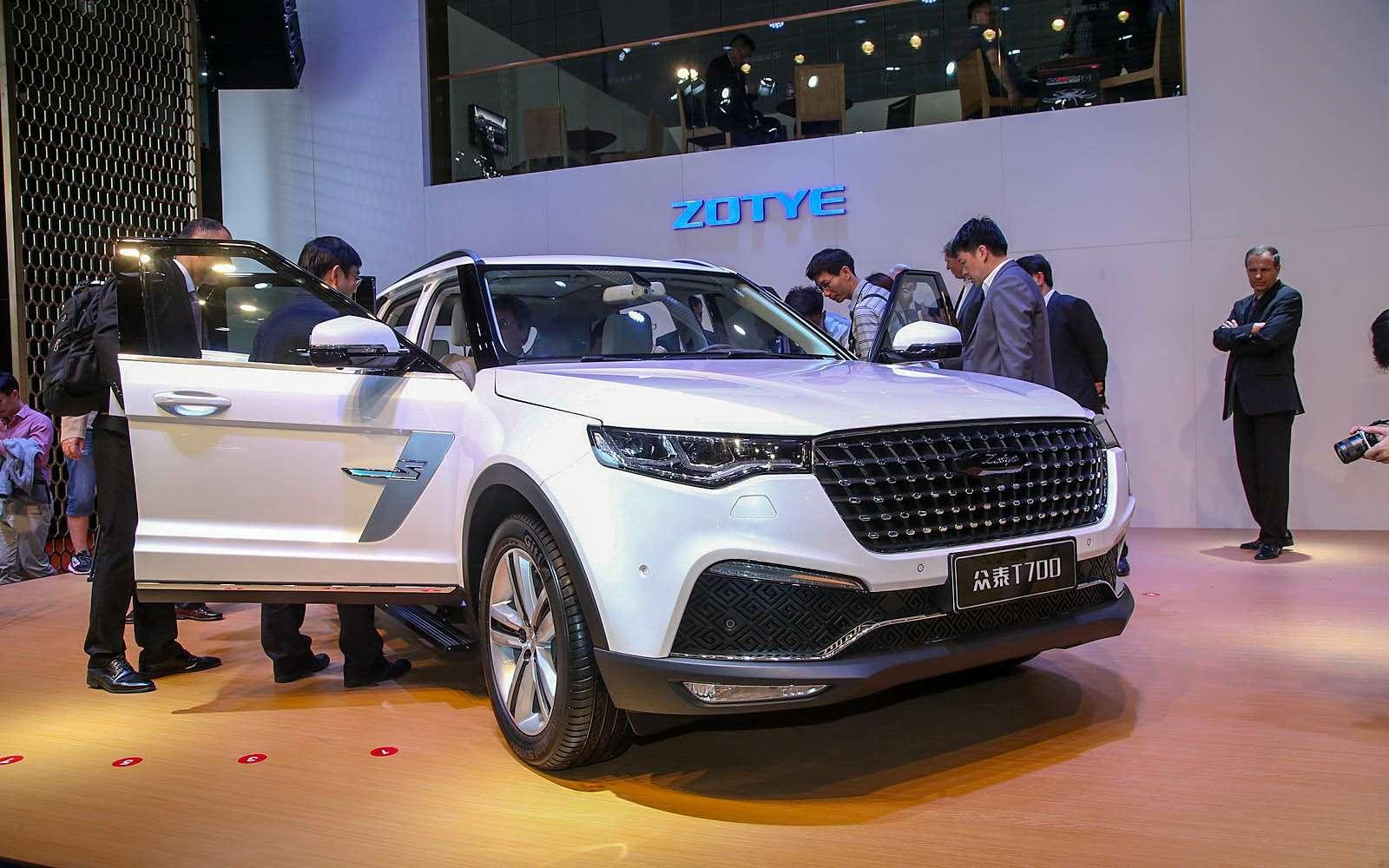 Новый Tiggo 5, будущая Camry идругие: онлайн-трансляция сШанхайского автосалона— фото 739521