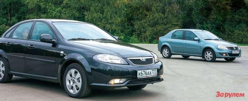 Daewoo Gentra, Renault Logan