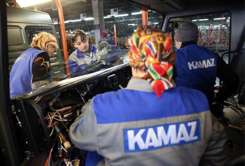 KamAZ plant inNaberezhnye Chelny, Tatarstan, Russia