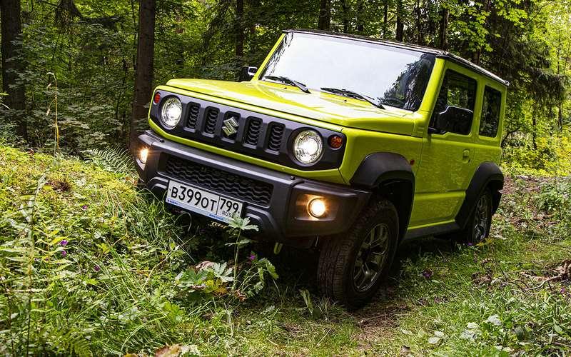 Новый Suzuki Jimny— тест вовсех подробностях