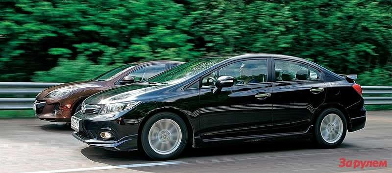 Mazda 3, Honda Civic