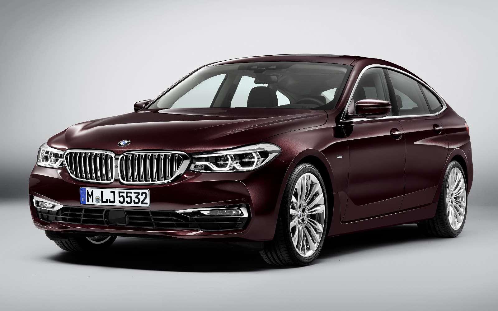 Новый лифтбек BMW 6-й серии Gran Turismo— лучше, чем «сарай»!— фото 764533