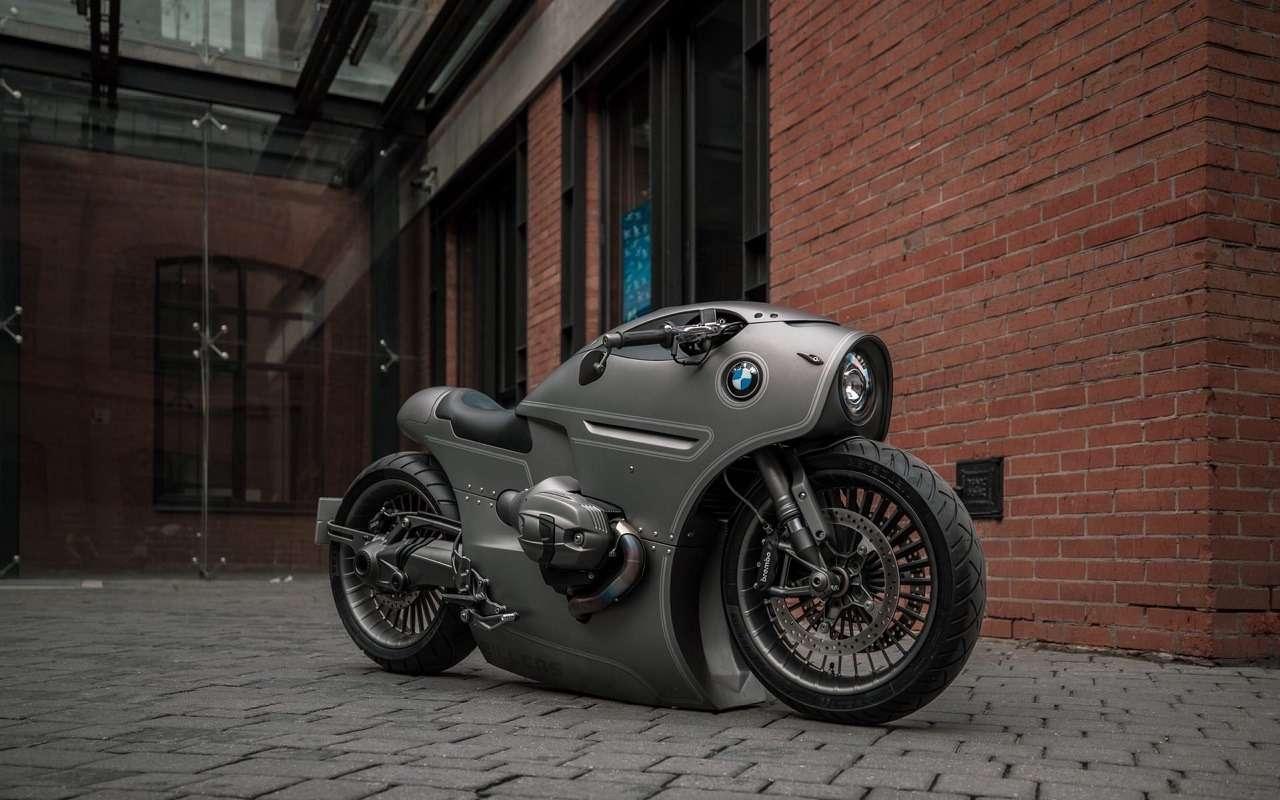 Это вообще реально? Российский мастер создал мотоцикл позаказу BMW Motorrad— фото 1138773