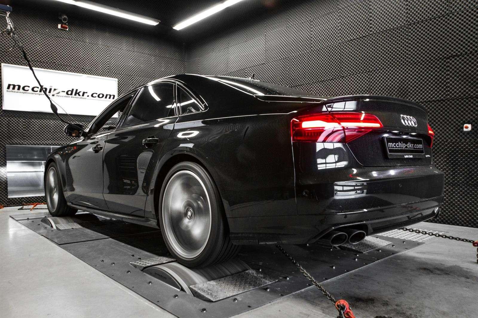 Audi S8plus рассказала страшную сказку наночь— фото 589186