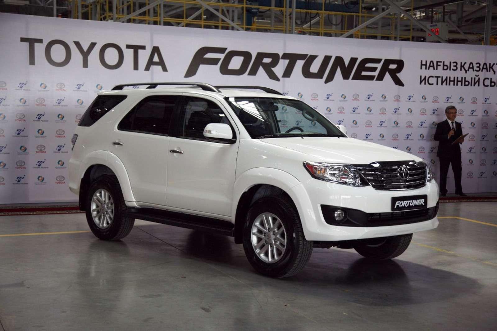 Toyota Fortuner встал на конвейер в Казахстане — журнал За рулем b1dd6560c04
