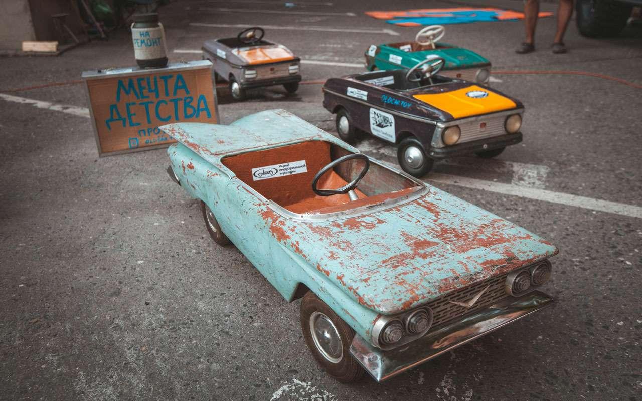Лучшие переделанные авто имотоциклы: ввыходные на«Кастом Конвенции»— фото 986709