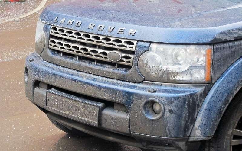 грязь наавтомобиле