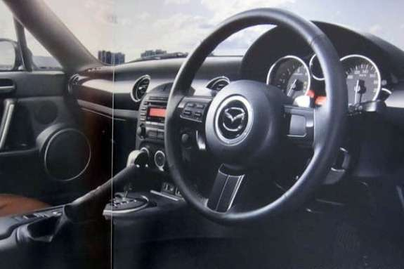 Mazda MX-5NC3 inside