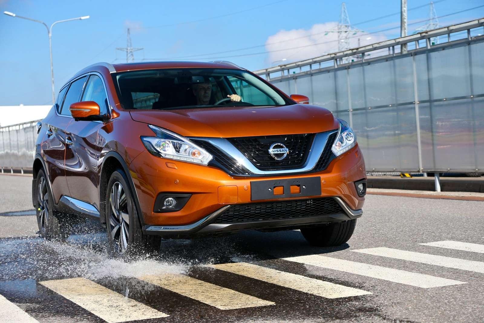 Новый Nissan Murano: мыпоездили нанем первыми!— фото 614154