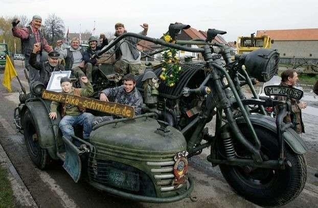 Самый тяжелый в мире мотоцикл