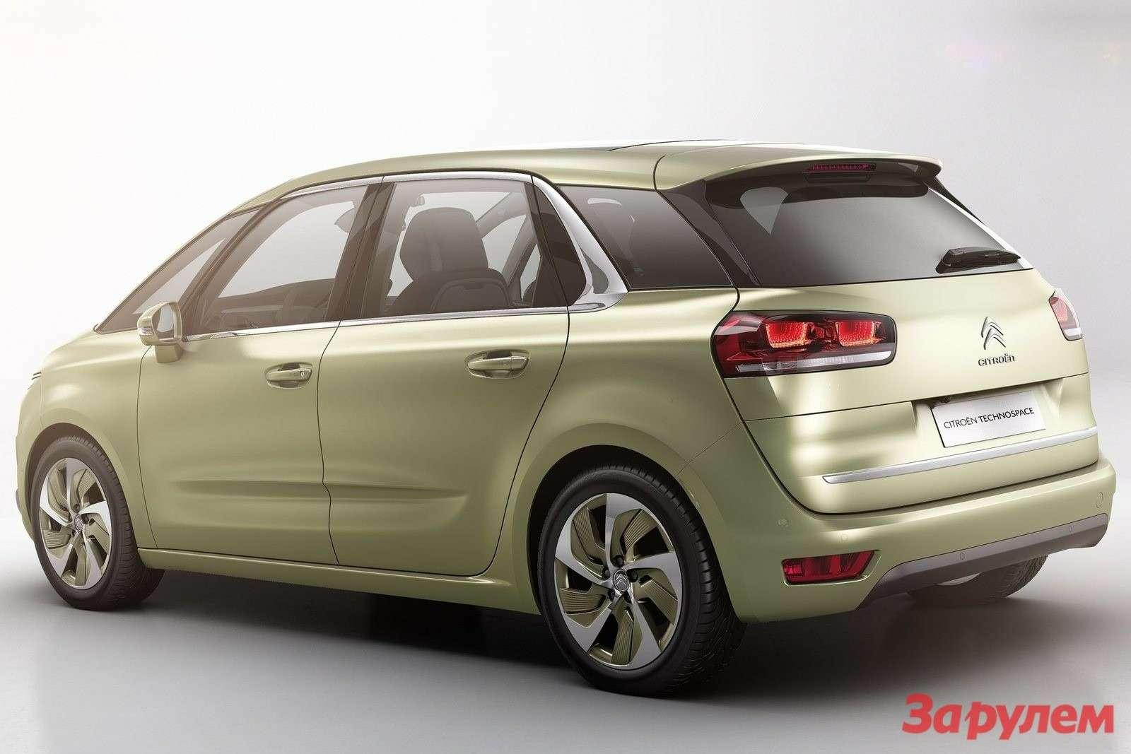 Citroen Technospace Concept side-rear view